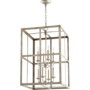 Cuboid Ii - Eight Light 2-Tier Foyer