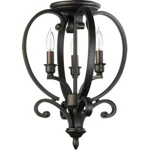 Bryant - Three Light Semi-Flush Mount Foyer
