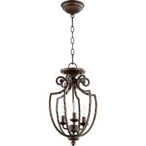Tribeca - Three Light Dual Mount Pendant