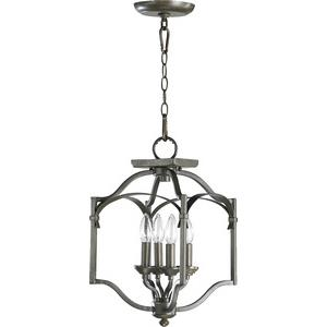 Atwood - Four Light Dual Mount Pendant