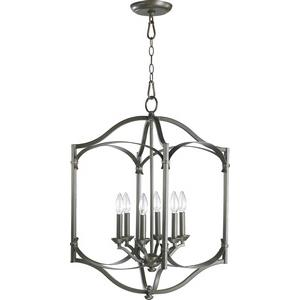 Atwood - Six Light Entry Pendant