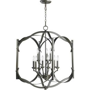 Atwood - Nine Light Entry Pendant