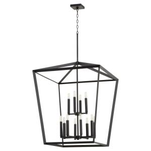 Manor - Twelve Light 2-Tier Entry Pendant in style - 29 inches wide by 38 inches high
