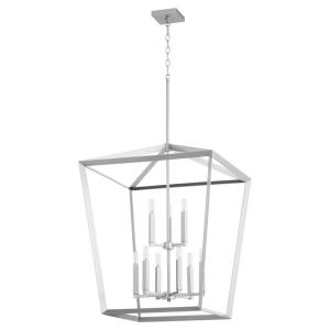 Manor - 9 Light 2-Tier Entry Pendant in style - 25 inches wide by 34.25 inches high