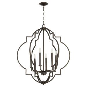 Dublin - 6 Light Pendant in style - 29.5 inches wide by 34 inches high
