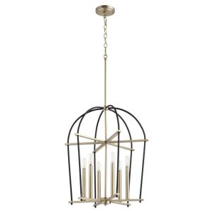 Espy - 6 Light Entry Foyer in Soft Contemporary style - 20.5 inches wide by 24.75 inches high