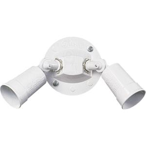2 Light PAR Holder Wall Mount in style - 11 inches wide by 5 inches high