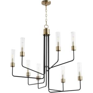 Helix - 8 Light Chandelier in  style - 34.5 inches wide by 33.5 inches high