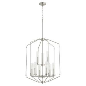 Citadel - 9 Light 2-Tier Entry Pendant in style - 23.75 inches wide by 31.5 inches high