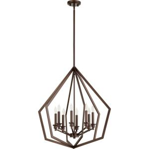 Knox - 8 Light Pendant in Quorum Home Collection style - 26 inches wide by 28.75 inches high