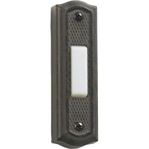 "Zinc - 3.5"" Door Button"