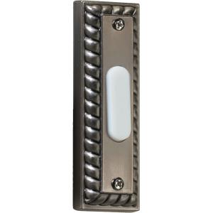Traditional - 3.5 Inch Rectangular Door Chime Button