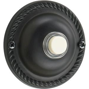 Traditional - 2.5 Inch Round Door Chime Button
