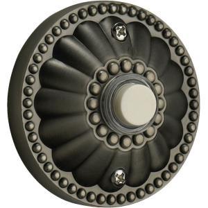 Elegant - 2.5 Inch Round Door Chime Button