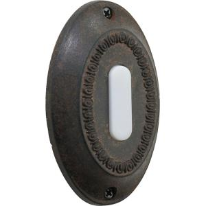 Basic - 3.5 Inch Oval Door Chime Button