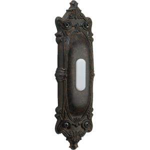 Opulent - 6 Inch Oval Door Chime Button