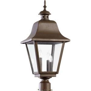 Bishop - Three Light Outdoor Post Lantern