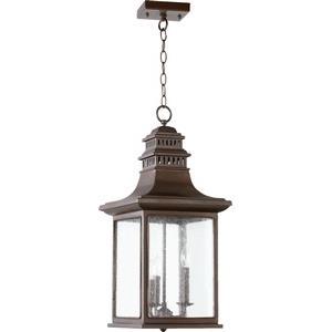 Magnolia - Three Light Outdoor Hanging Lantern