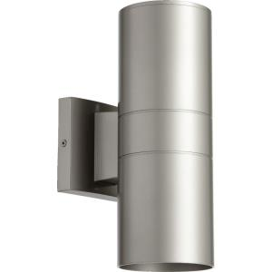 Cylinder - Two Light Outdoor Wall Lantern