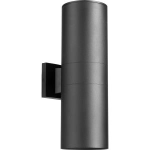 Cylinder - 6 Inch Two Light Outdoor Wall Lantern