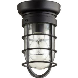 Bowery - 1 Light Flush Mount in Transitional style - 4.5 inches wide by 8.25 inches high