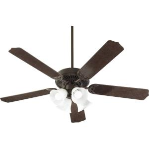 Capri 9 - Ceiling Fan in Traditional style - 52 inches wide by 17 inches high