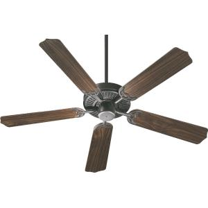 Capri - Ceiling Fan in Quorum Home Collection style - 42 inches wide by 11.02 inches high