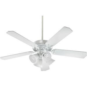 Capri V - 52 Inch Ceiling Fan with Light Kit