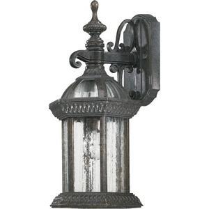 Stelton - One Light Small Outdoor Down Wall Lantern