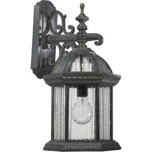 Stelton - One Light Large Outdoor Down Wall Lantern