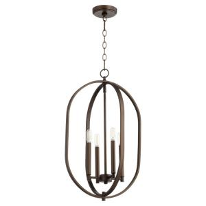 Collins - 5 Light Entry Pendant in style - 20 inches wide by 31.5 inches high