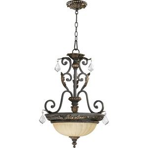 Rio Salado - 3 Light Pendant in Transitional style - 19 inches wide by 26 inches high