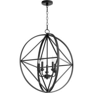 Prolate - 5 Light Pendant in Transitional style - 23.75 inches wide by 27 inches high