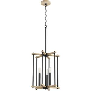 Silva - 3 Light Entry Foyer in  style - 13 inches wide by 16.5 inches high