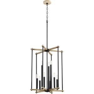 Silva - 9 Light Entry Foyer in  style - 19 inches wide by 24.75 inches high