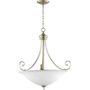 Bryant - 4 Light Pendant in Quorum Home Collection style - 27.5 inches wide by 29.5 inches high