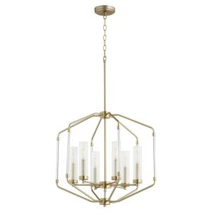 Citadel - 6 Light Pendant in style - 23.75 inches wide by 22.5 inches high