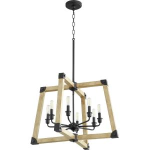 Alpine - 8 Light Pendant in Soft Contemporary style - 26 inches wide by 18.75 inches high