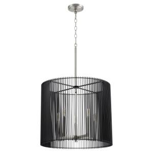 Finura - 5 Light Pendant in Soft Contemporary style - 21 inches wide by 18 inches high