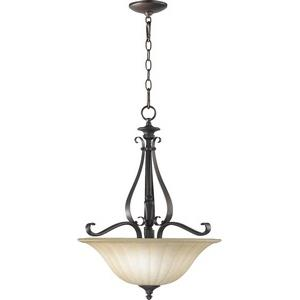 Randolph - 3 Light Pendant in Transitional style - 19 inches wide by 25 inches high