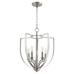 Dakota - 5 Light Chandelier in Soft Contemporary style - 16 inches wide by 20 inches high