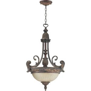 Madeleine - 3 Light Pendant in Traditional style - 19.5 inches wide by 29.25 inches high