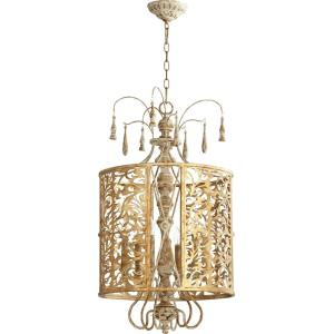 Leduc - 6 Light Pendant in Transitional style - 18 inches wide by 33 inches high