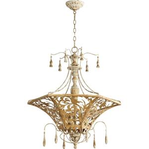 Leduc - 6 Light Pendant in Transitional style - 27 inches wide by 29.5 inches high