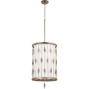 Cordon - 3 Light Pendant in style - 16 inches wide by 27.5 inches high
