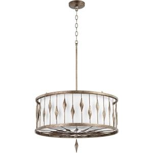 Cordon - 6 Light Drum Pendant in style - 24.25 inches wide by 15.25 inches high