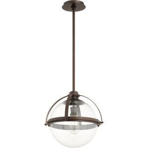 Meridian - 14.75 Inch One Light Globe Pendant