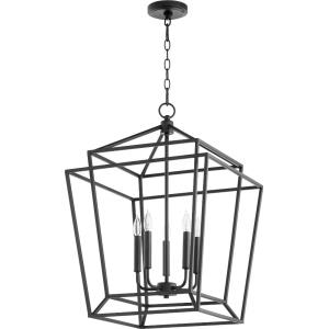 Monument - 5 Light Entry Pendant in Transitional style - 18 inches wide by 26.5 inches high
