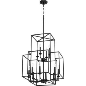 Torres - Twelve Light Entry Pendant in Transitional style - 22 inches wide by 28.5 inches high