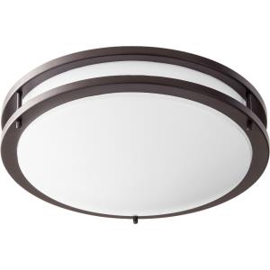 "14.5"" 23W 1 LED Round Flush Mount"